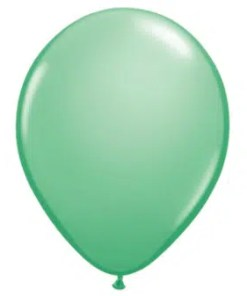 Wintergreen Latex Balloon