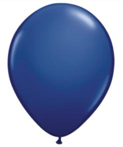 Navy Blue Latex Balloon