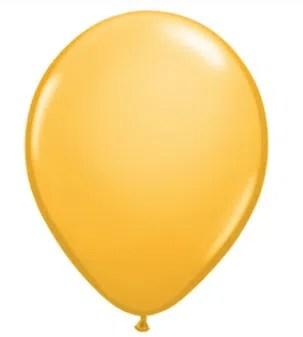 Golden Rod Latex Balloon