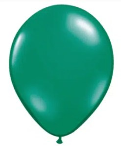Emerald Green Latex Balloon