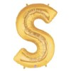 Letter Balloon S Gold