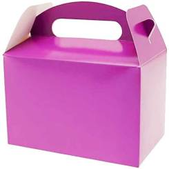 Purple Party Lunch Boxes - Kids Food Boxes