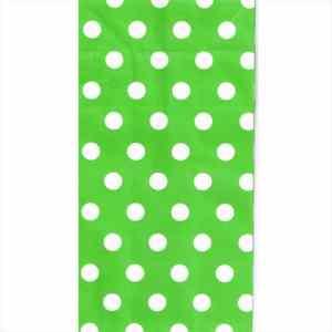 Green-Polka-Paper-Bag
