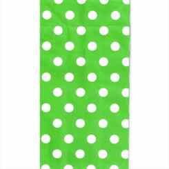 Green Polka Dot Paper Party Bags – Birthday Bags