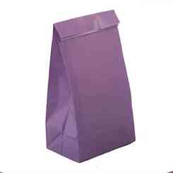 Lavender Paper Party Bags - Paper Gift Bags