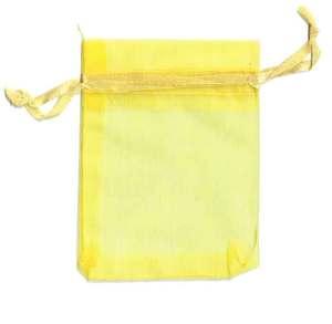 Organza Bag Yellow