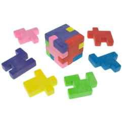 Puzzle Cube Rubber – Party Novelty Erasers