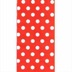 Red Polka Dot Paper Party Bags - Small Gift Bags