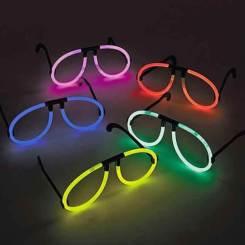Glow Stick Glasses - Glowing Party Fun