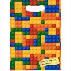 Brick Party Bags - Building Blocks Bags