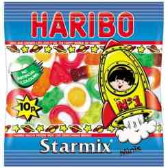100 Haribo Starmix Party Sweets