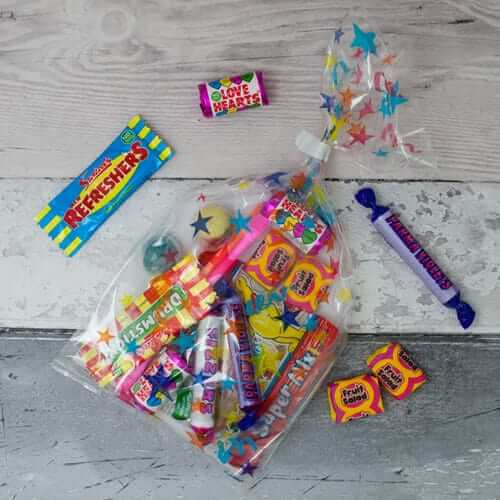 Pre Filled Bag of Kids Party Sweets
