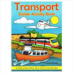 Transport Sticker Books A6 - Themed Party