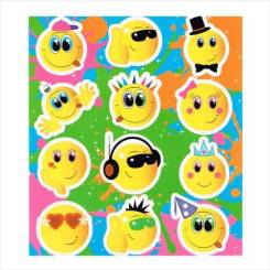 Emoji Sticker Sheets