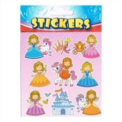 Princess Stickers for Kids Party Bags