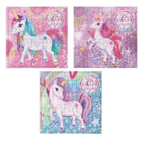 Unicorn Party Jigsaws