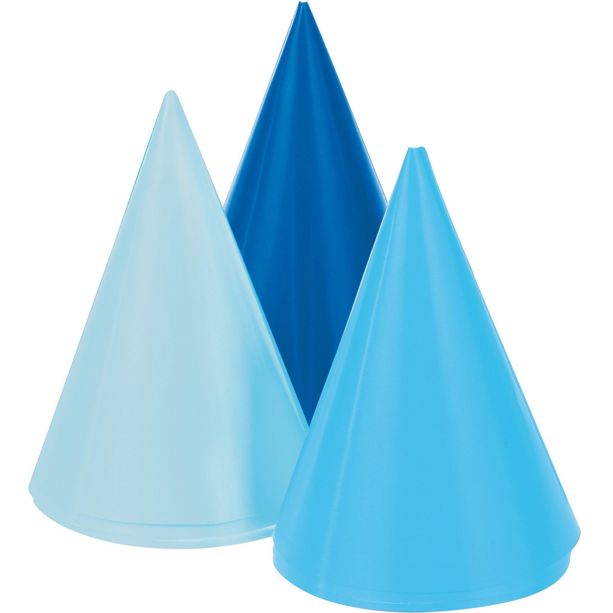 1st Birthday Boy 8 Cone Party Hats