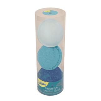 Bubbly Bubbles bruisballen 3 pack blauw