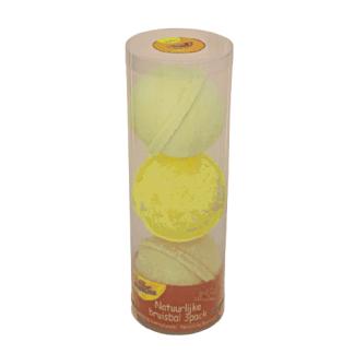 Bubbly Bubbles bruisballen 3 pack geel