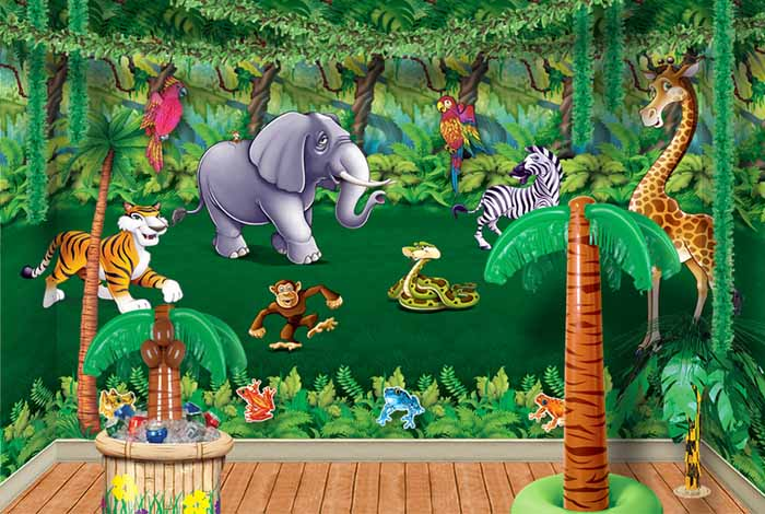 Safari Theme Baby Shower Ideas