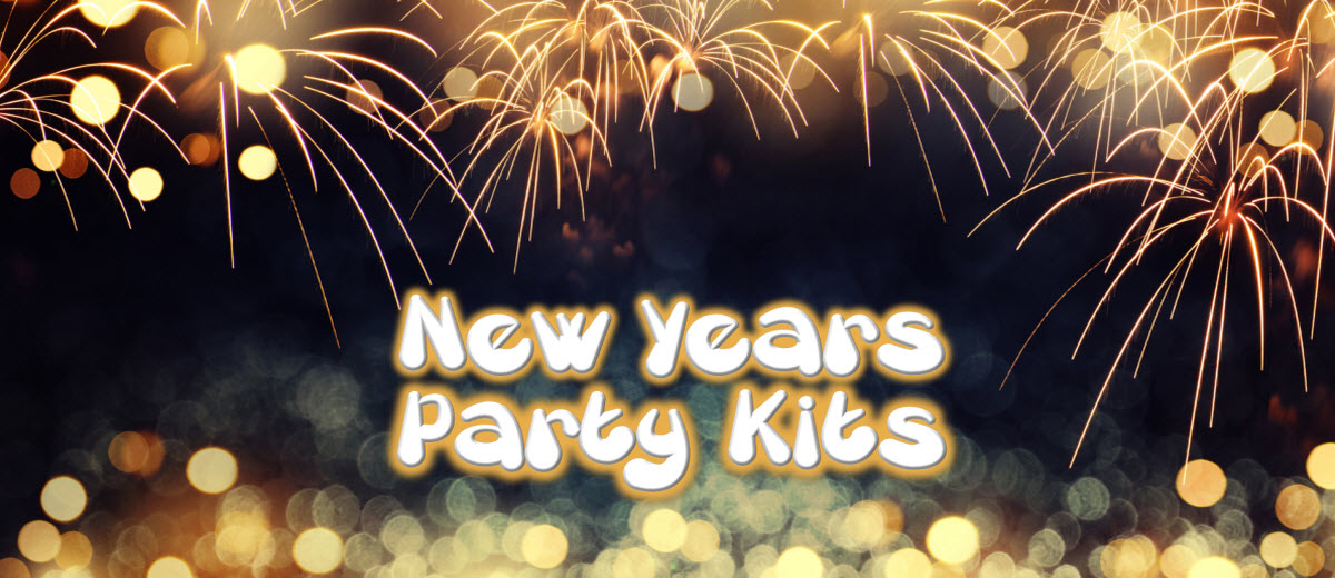 New Year's Eve Party Kits