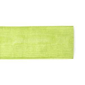 Nastro Organza Verde 10 mm | L 50 M-0