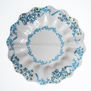 Piatti Dolce Fiori Azzurri | Tenerezze | 10 Pezzi-0