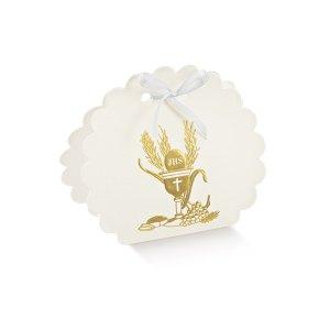 Borsa Rotonda Comunione Oro | Signum (10 pezzi)-0