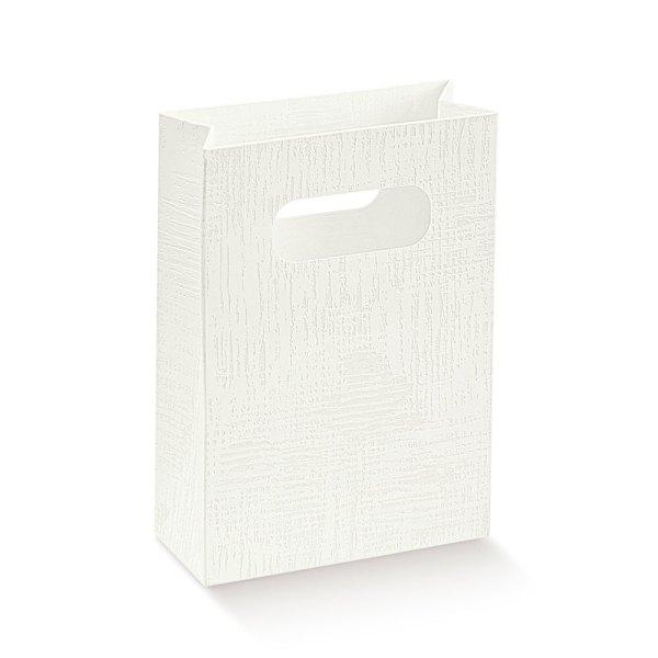 Shopper tela bianca grande (10 pezzi)-0