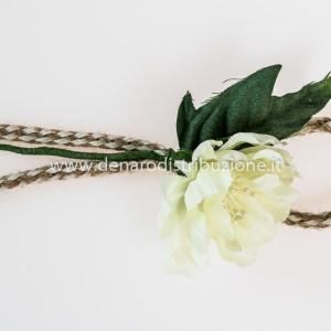 Fiore Corda Panna (24 pezzi)-0