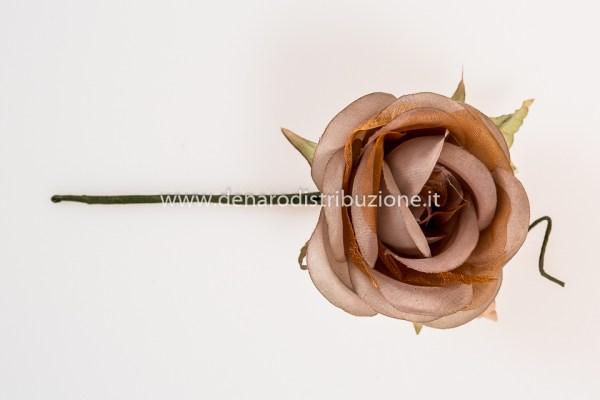 Rosa Marrone | DIAM 6,5 CM (6 pezzi) STOCK-0
