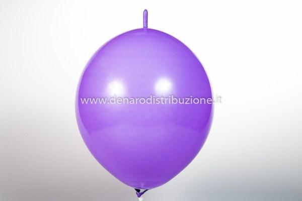 """Palloncino Tondo Link Lavanda Pastello 14""""/35 cm. (100 Pezzi)-0"""
