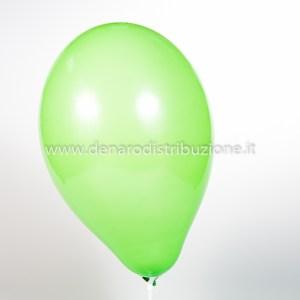 """Palloncino Tondo Verde Chiaro Pastello 12""""/30 cm. (100 Pezzi)-0"""