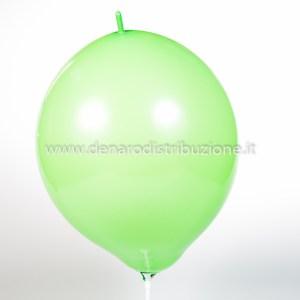 """Palloncino Tondo Link Verde Chiaro Pastello 14""""/35 cm. (100 Pezzi)-0"""