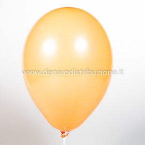 """Palloncino Tondo Arancione Pastello 10""""/25 cm. (25 Pezzi)-0"""