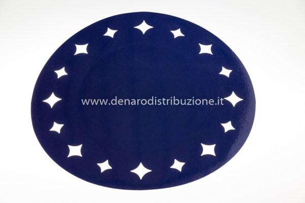 Sottopiatti Blu Stelle   6 Pezzi-0