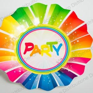 Piatti Piani Colorati | Party (10 Pezzi)-0