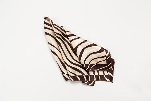 Foulard Sacchetto Zebrato marrone (10 pz) STOCK-0