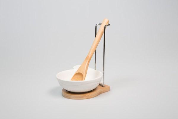 set poggiamestolo bomboniera | WOOD-0