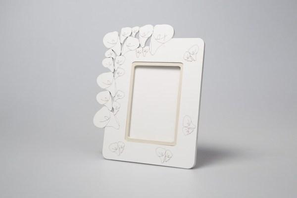 Portafoto Legno   Piccolo Calla con scatola-0