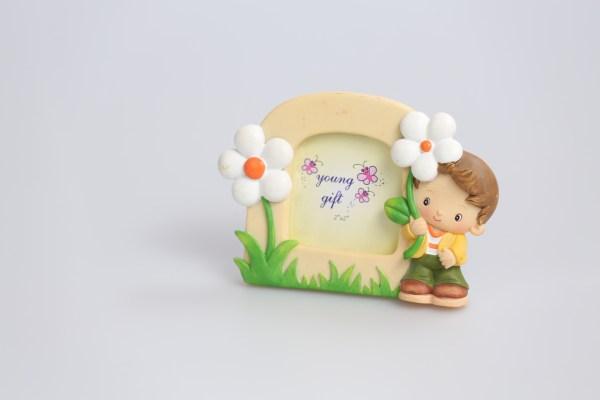 Bimbo portafoto piccolo Daisy (4 pz)-0
