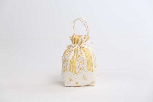 Borsetta grande con manico cordoncino giallo (10 pz)-0