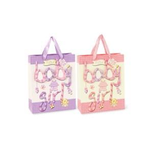 Shopper assortito rosa e lilla h. 24 (12 pz)-0