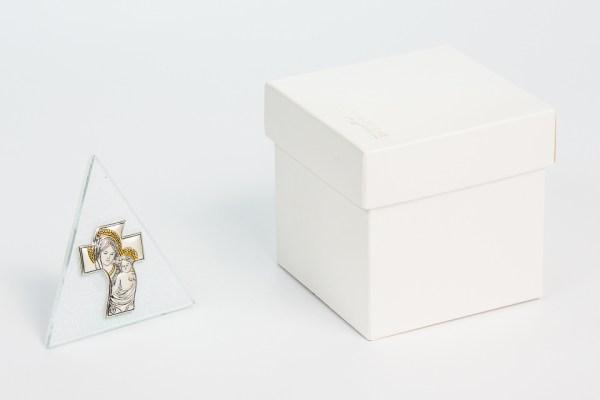 icona bomboniera con immagine della maternità con scatola STOCK-0
