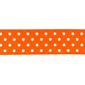 Nastro doppio raso pois Arancio 20 mm-0