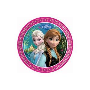 Piatti Frozen Disney | 8 pezzi cm 23-0
