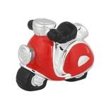 Bomboniera scooter rosso Medio (12 pezzi)-0