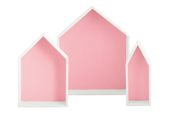 Set 3 vassoi casa rosa-0