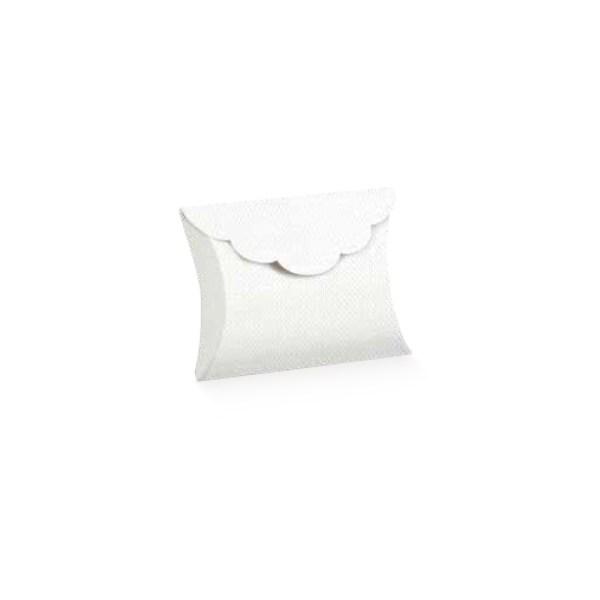 Scatola busta lino bianca (10 pezzi)-0
