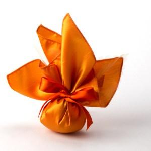 Fazzoletto shantung arancione (STOCK)-0